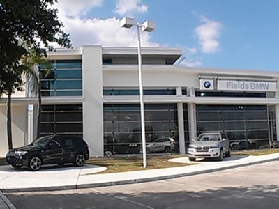 Stucco Exterior - BMW Dealer