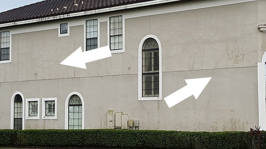 Stucco repairs - Central Florida