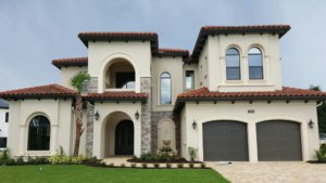 Exterior accents in architectural precast or foam