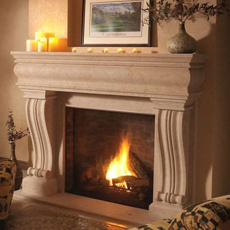 Custom fireplace mantels with hundreds of design options